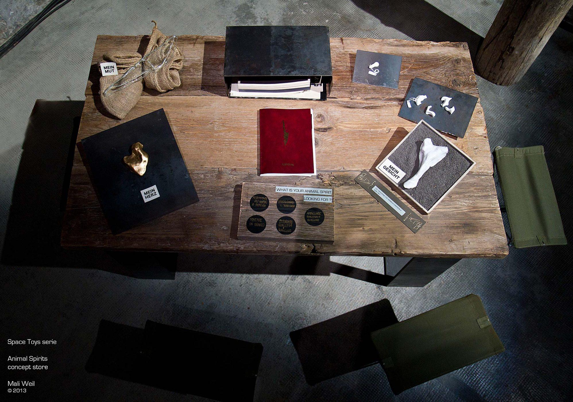 Table concept - design Mali Weil