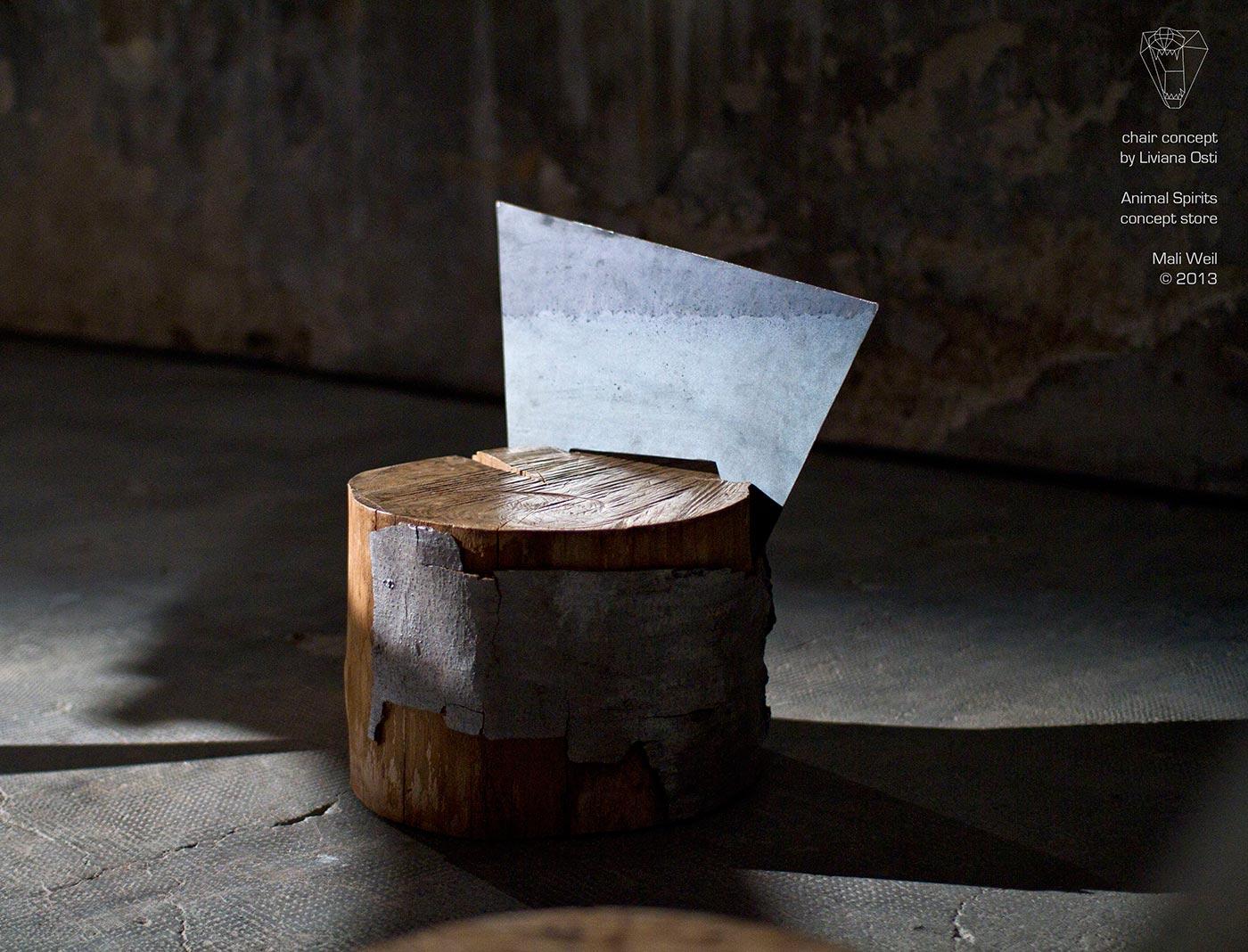 Mali-Weil-Animal Spirits Chair concept Design Liviana Osti
