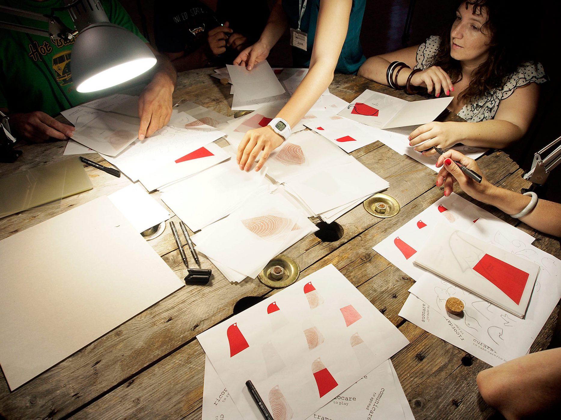 participative design in white noise machine by Mali Weil
