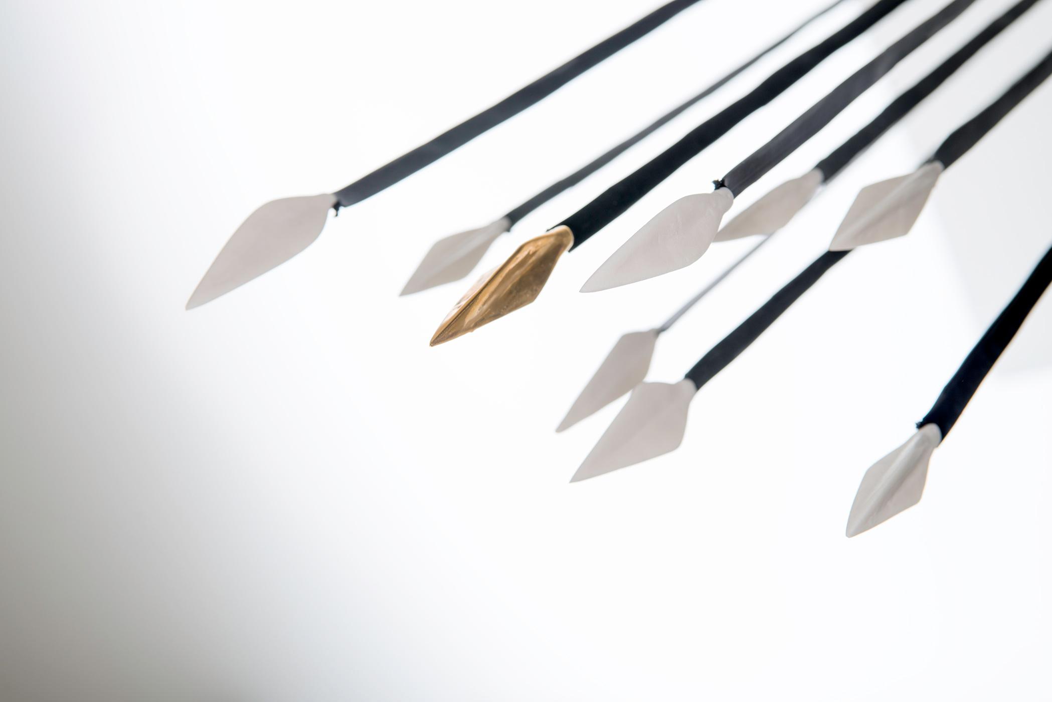 nine arrows as the nine prts f the soul - design Anna Kiryakova per Malli Weil