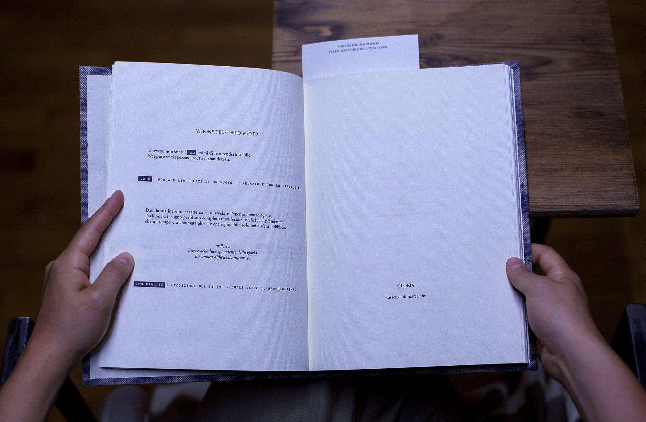Dresseur's books - artist book by Mali Weil, an handbook for politic presence